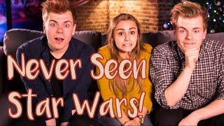 Never Seen Star Wars! with Niki n Sammy | Hannah Witton