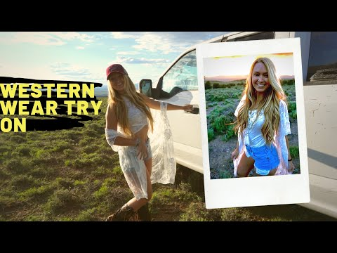 Western Wear Try On Haul Featuring Country Outfitter!