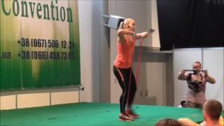 Функциональная тренировка  с резиной (эспандером)