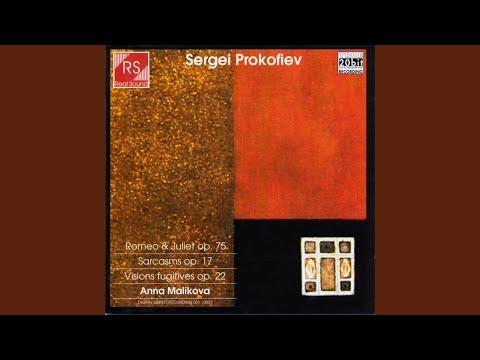 Sarcasms Op. 17: Allegro Precipitato
