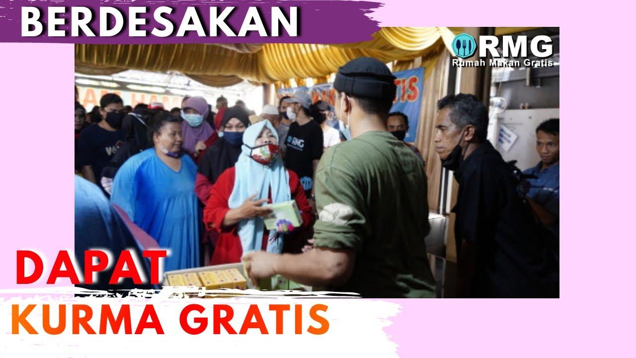 BERDESAKAN !!! DAPAT KURMA GRATIS !!!