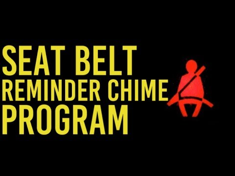 Program Your Wrangler Seat Belt Reminder Chime