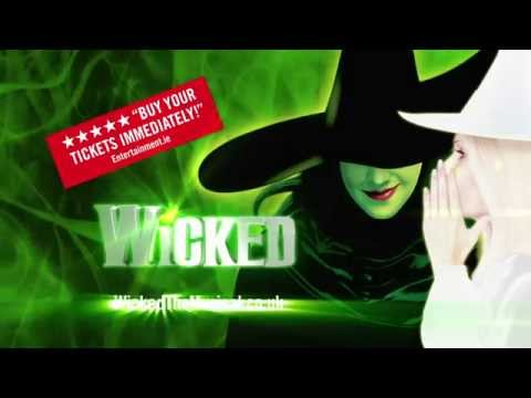 Wicked at The Lowry, Salford Quays - June 3rd to July 25th 2015