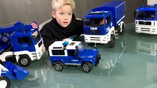 BRUDER Toys THW TRUCK Collection ♦ Special BRUDER TRUCKS Edition!