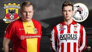 Ian ter Schuur - Frank van der Slot | Go Ahead Eagles - Sparta Rotterdam | Speelronde 34 | E-Divisie
