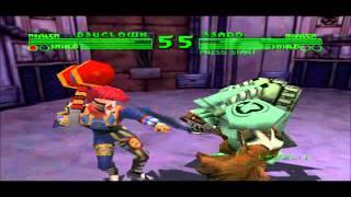Bio F.R.E.A.K.S. (PSX) Gameplay
