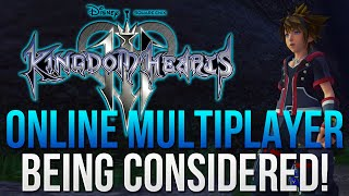 Kingdom Hearts 3 - Online Multiplayer is Being Considered!
