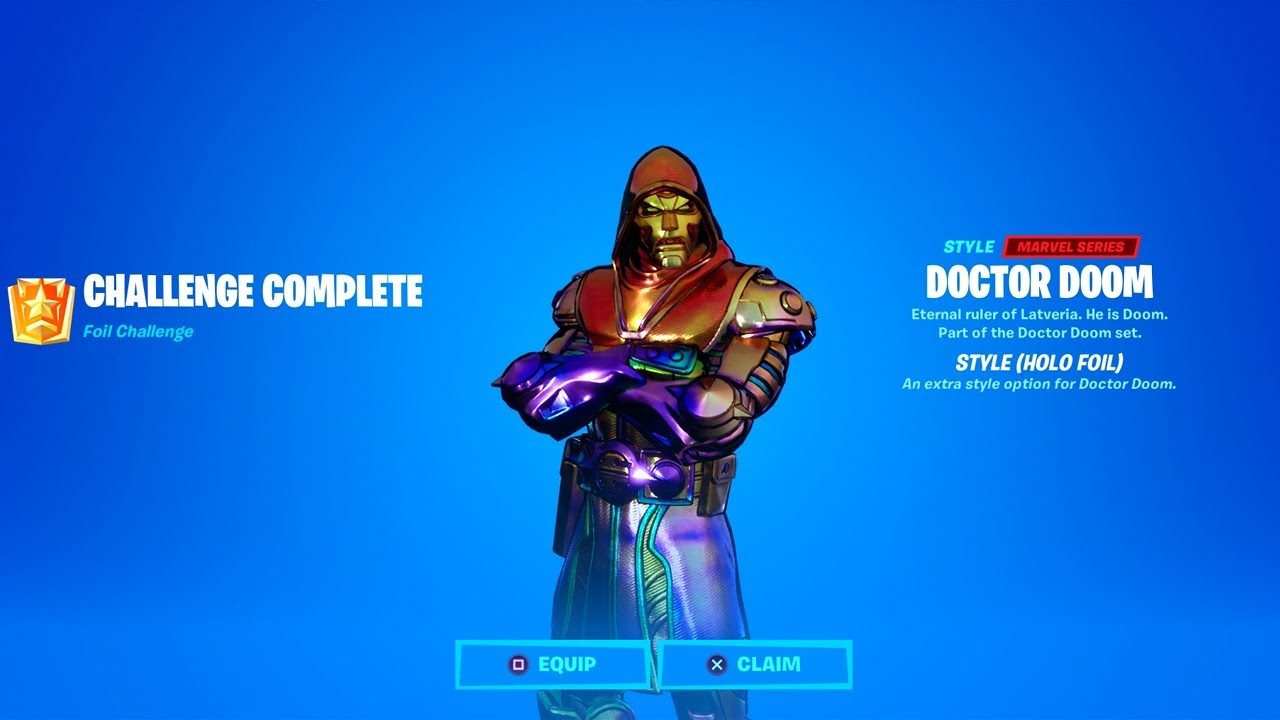How to Unlock All Doctor Doom Styles (Silver, Gold, Holo Foil) & Awakening Challenges
