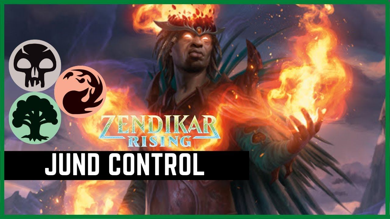 Battling Omnath With Jund Control in MTG Arena Standard | MTGA | Magic the Gathering Arena