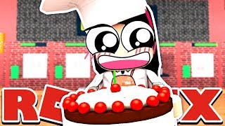 I Can't Cook IRL. Can I Bake a Cake in Roblox? - Roblox Baker's Valley - DOLLASTIC PLAYS!