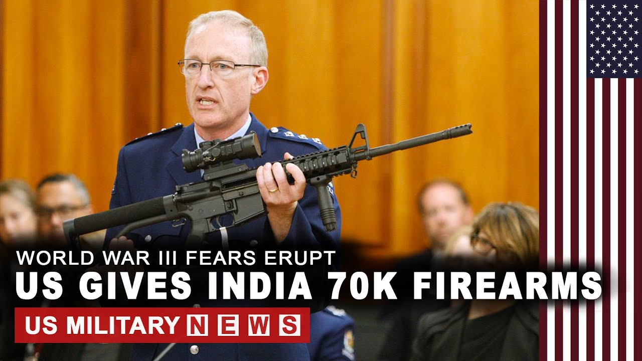 World War 3: US to give India more than 70K firearms to fight China