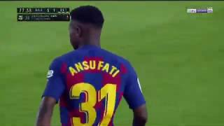Ansu Fati vs Real Betis Complete (25/08/2019, English Commentary - Ray Hudson) Liga Santander Debut
