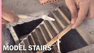 HOW TO BUILD STAIRS IN CONCRETE----CÓMO CONSTRUIR UNA ESCALERA EN CONCRETO