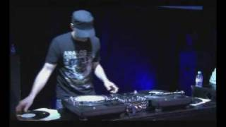 Dmc 2009 UK Final DJ X-Rated 6 Minute Routine