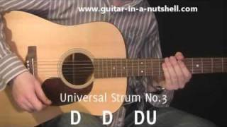 Guitar Lessons - My Top 3 Guitar Strums!