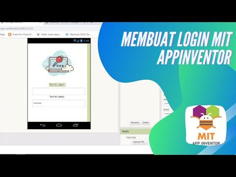 Membuat Login MIT App Inventor + Mysql #Part 2
