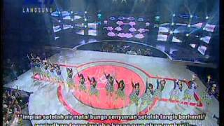Mega Concert JKT48 17th July 2012 Shonichi Hissatsu Teleport with Lyrics