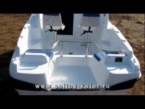 Моторная лодка (катер) Посейдон 500Р. Boat Poseidon-500R