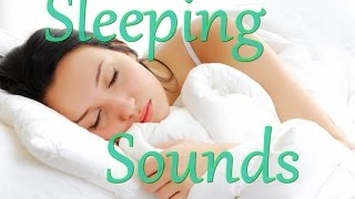 ASMR - 1 Hour Sleeping Next to Someone (Breathing, Snoring, Mouth Sounds)