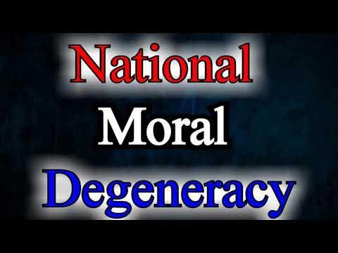 National Moral Degeneracy - Albert N. Martin / Christian Audio Sermons