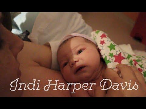 BIRTH VLOG! 💕 Indi Harper Davis is Born! 💕