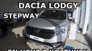 Dacia LODGY stepway | En Ucuz 7 Koltuklu Araç |1.5 dci 110bg