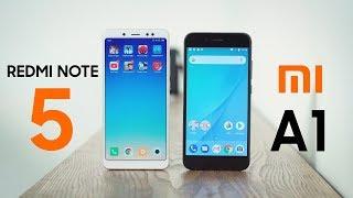 So sánh chi tiết Xiaomi Redmi Note 5 và Xiaomi Mi A1: hơn 4 triệu máy nào tốt?