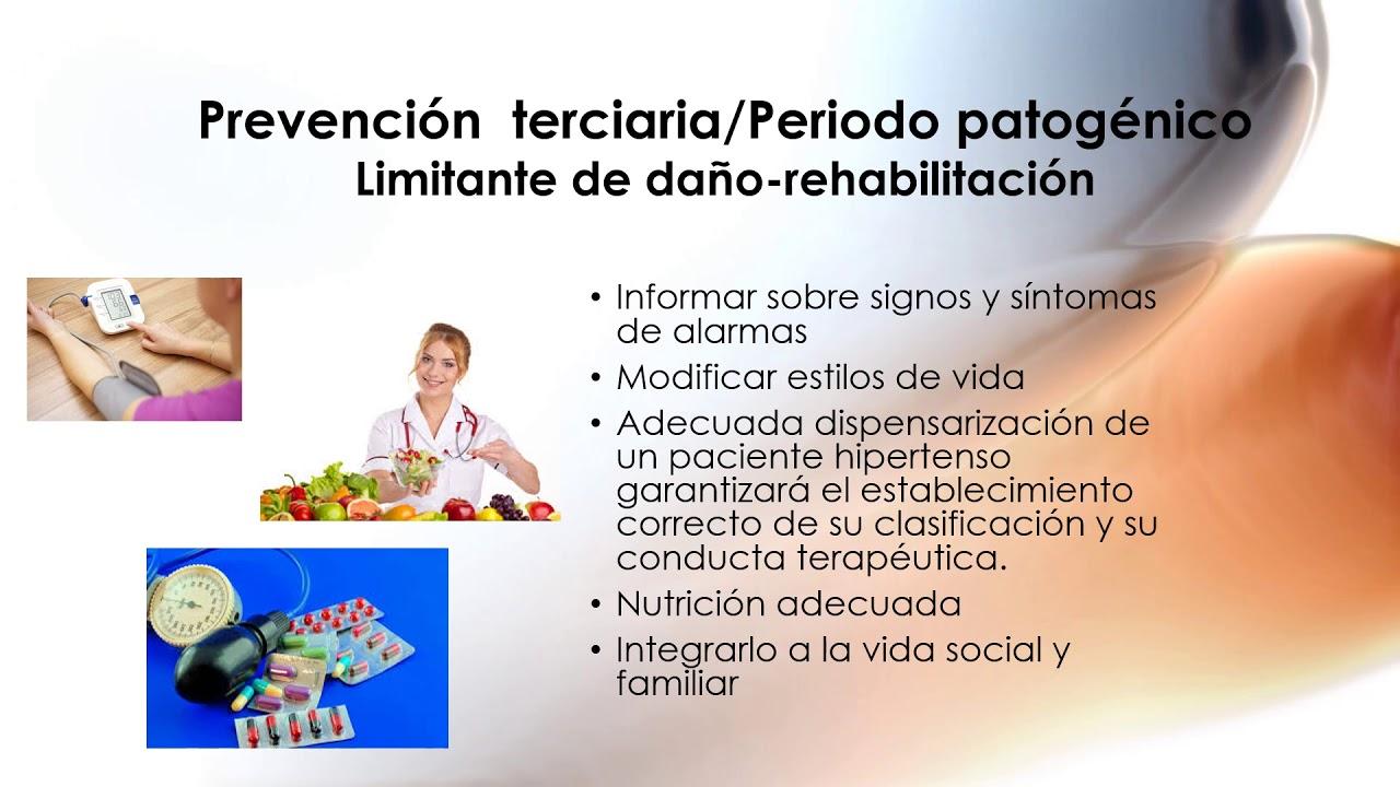 Prevención terciaria de la hipertensión
