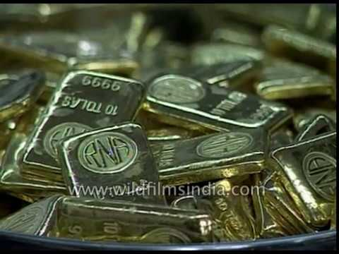 Gold Biscuits Seized By Customs - India's Obsession With Gold Continues