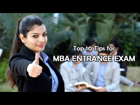 MBA Entrance Exam Tips