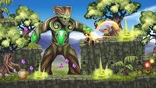 Fin & Ancient Mystery: (2 Magic Wood) platformer adventure