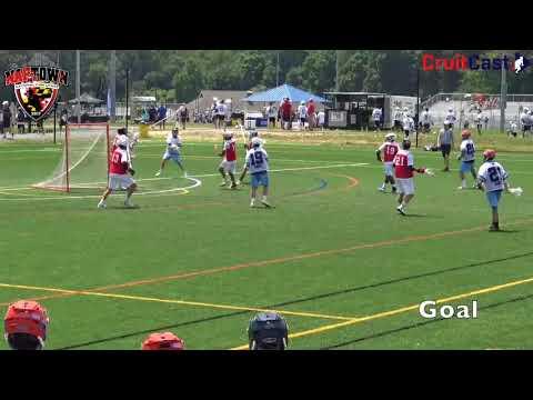 Zach Frank 2020 Midfield, 2017 Summer Lacrosse Highlights