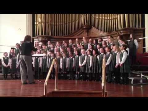 Balmoral Hall Grade 1-3 Choir Little Birch Tree