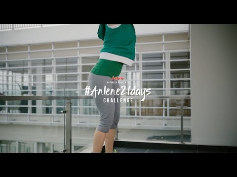 #Anlene21Days Challenge - Home Movements (06)