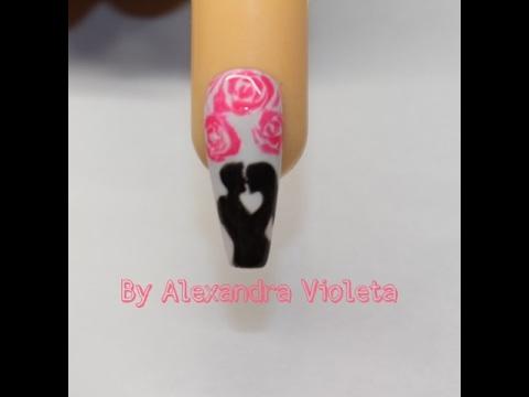 Nail Art Valentines Days Model De Unghii De Ziua Indragostitilor