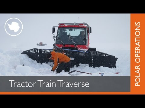 Tractor Train Traverse system