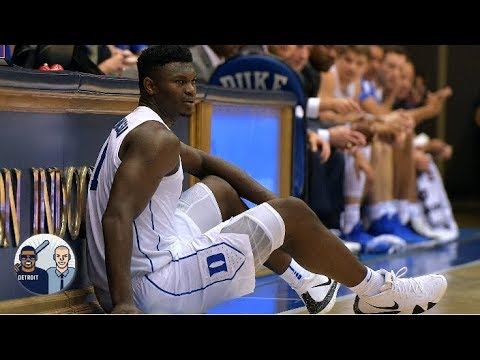 A pair of Zion's game-worn sneakers sold for almost $20K | Jalen & Jacoby