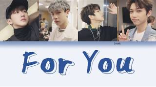 3RACHA (쓰리라차) ft. Felix Lee - For You [Han/Rom/Eng Color Coded Lyrics]