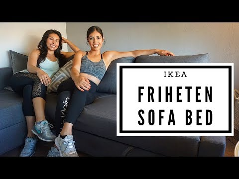 IKEA FRIHETEN SOFA REVIEW | Unboxing | Couch Bed | Review!
