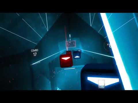 試玩VR音樂遊戲-Beat Saber - YouTube