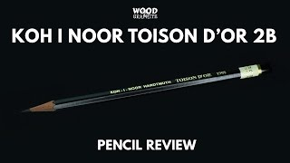 Koh I Noor Toison D'Or 1900 2B Pencil Review - ✎W&G✎