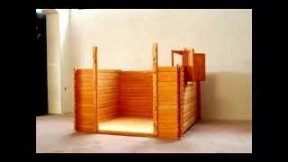 Установка беседки - уютного садового домика из вагонки от Terra-2000(Установка беседки (Садовый, дачный домик) - уютная деревянная беседка установка по канадской технологии..., 2013-03-18T22:30:53.000Z)