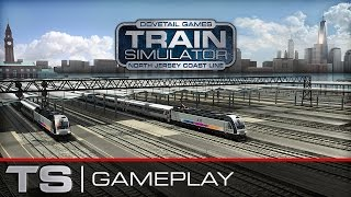 Train Simulator 2015 Gameplay - North Jersey Coast Line Route Preview