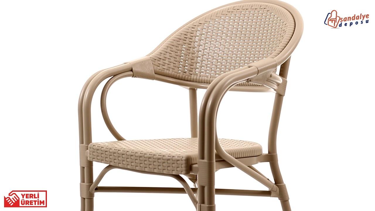 Smyrna Garden Bahce Sandalyeleri Rattan Sandalye Modelleri