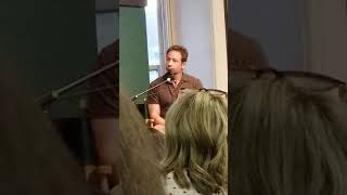 David Duchovny in Barnes and Nobles union Square NYC 2018