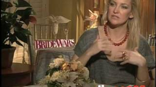 """EXCLUSIVE: KATE HUDSON GOES ONE ON ONE  """"BRIDE WARS"""""""