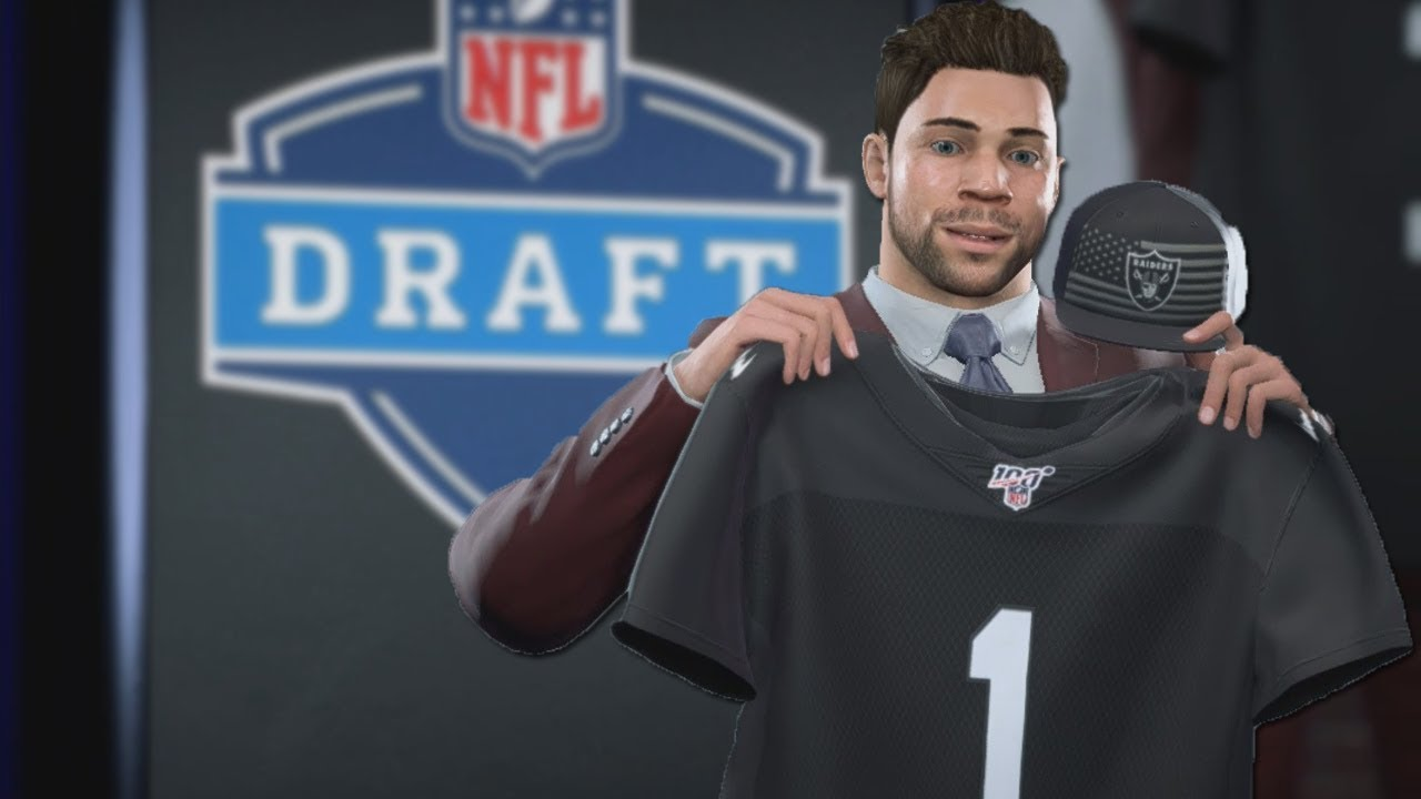 GETTING DRAFTED IN THE FIRST ROUND!! OUR NFL JOURNEY BEGINS!! MADDEN 20 CAREER MODE- EP 3