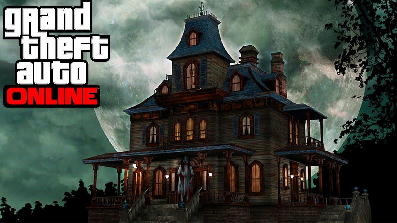 Une maison hant e qui fait peur sur gta 5 online youtube for Chambre qui fait peur