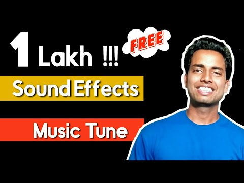 How To Download FREE Sound Effects / Music Tunes For Video Editing || Best Sound Effects 🔥🔥