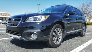2017 Subaru Outback Touring / Limited Review Off Road Wagon In Depth Tutorial & How To